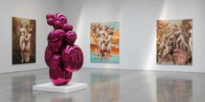 La empresa favorece las relaciones entre las galerías y los artistas noveles